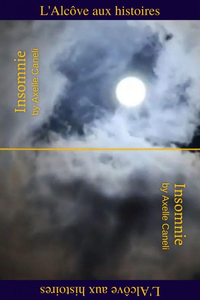 Epingle pinterest pour le poème Insomnie par Axelle Caneli