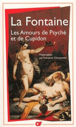 Couverture du roman Les Amours de Psyché et de Cupidon de La Fontaine.